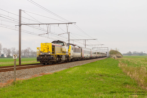 B-Technics 7732 + NMBS 1804 + I-11 - Oudenburg