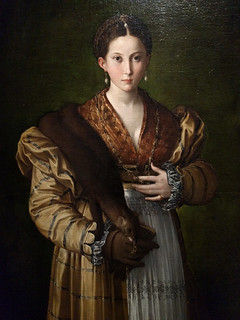 'Portrait of a Young Woman called 'Antea'' by Parmigianino