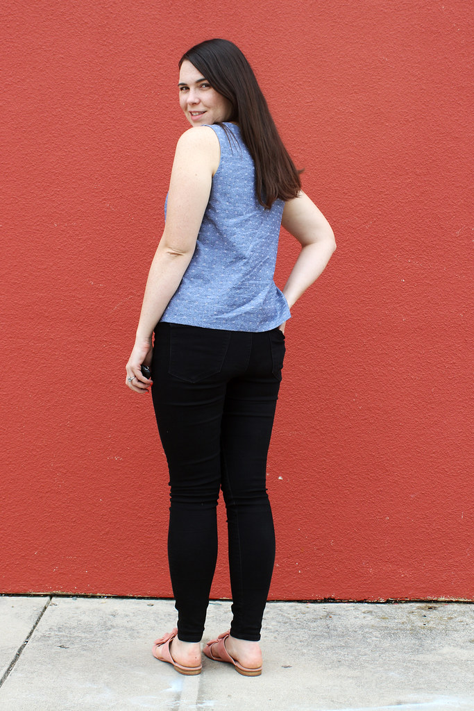Grainline Willow Tank