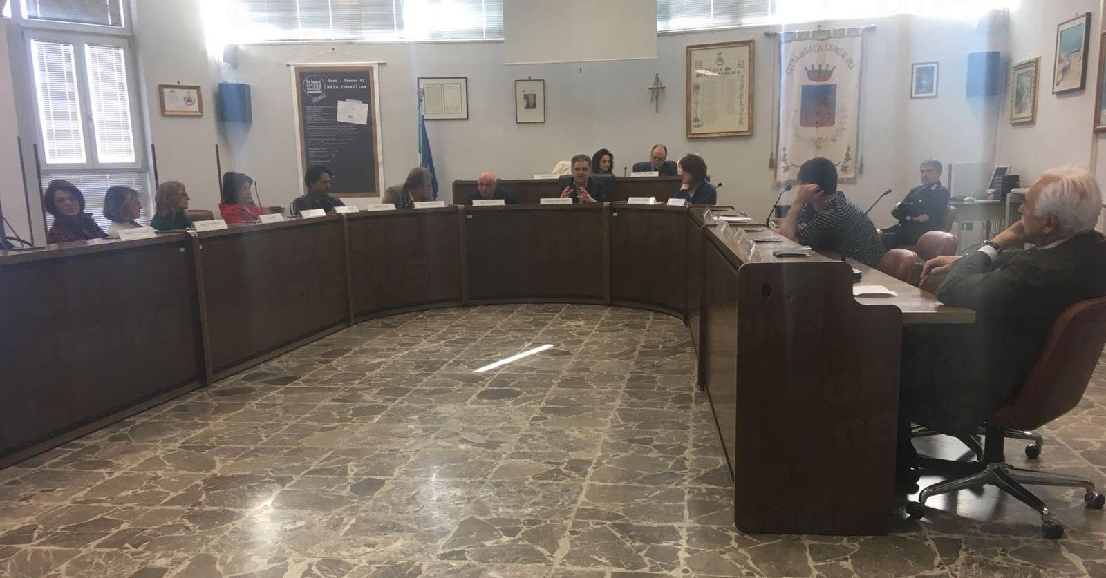 consiglio comunale sala c.30-03-18