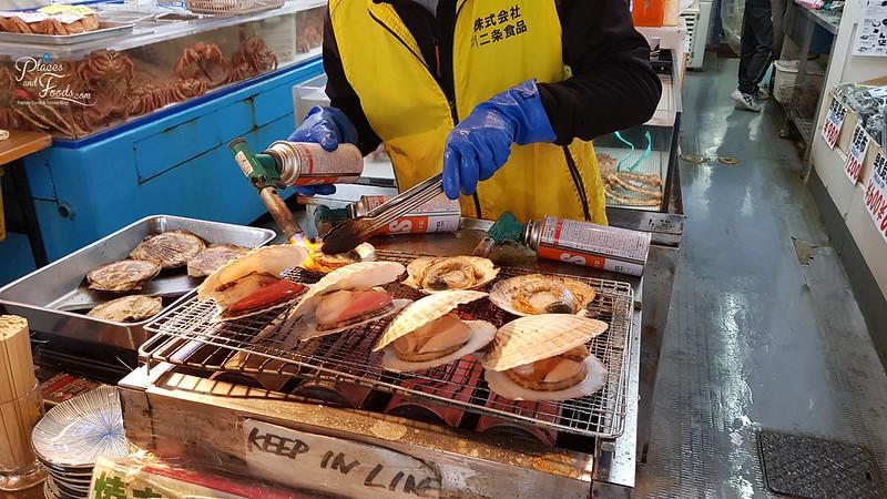 nijo market grilled scallop