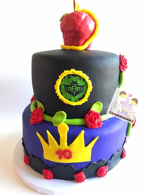 Descendants Themed Cake by Le Petite Sweets