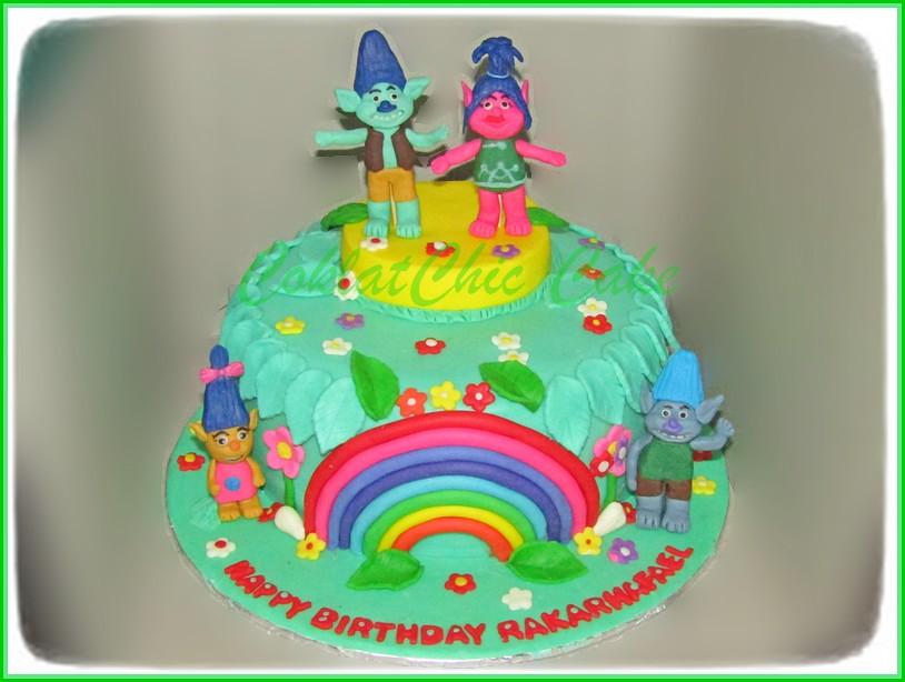Cake Trolls RakaRhafael 18 cm