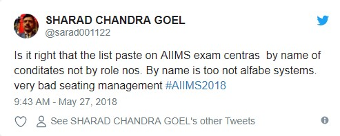 AIIMS MBBS Student Reaction 2018