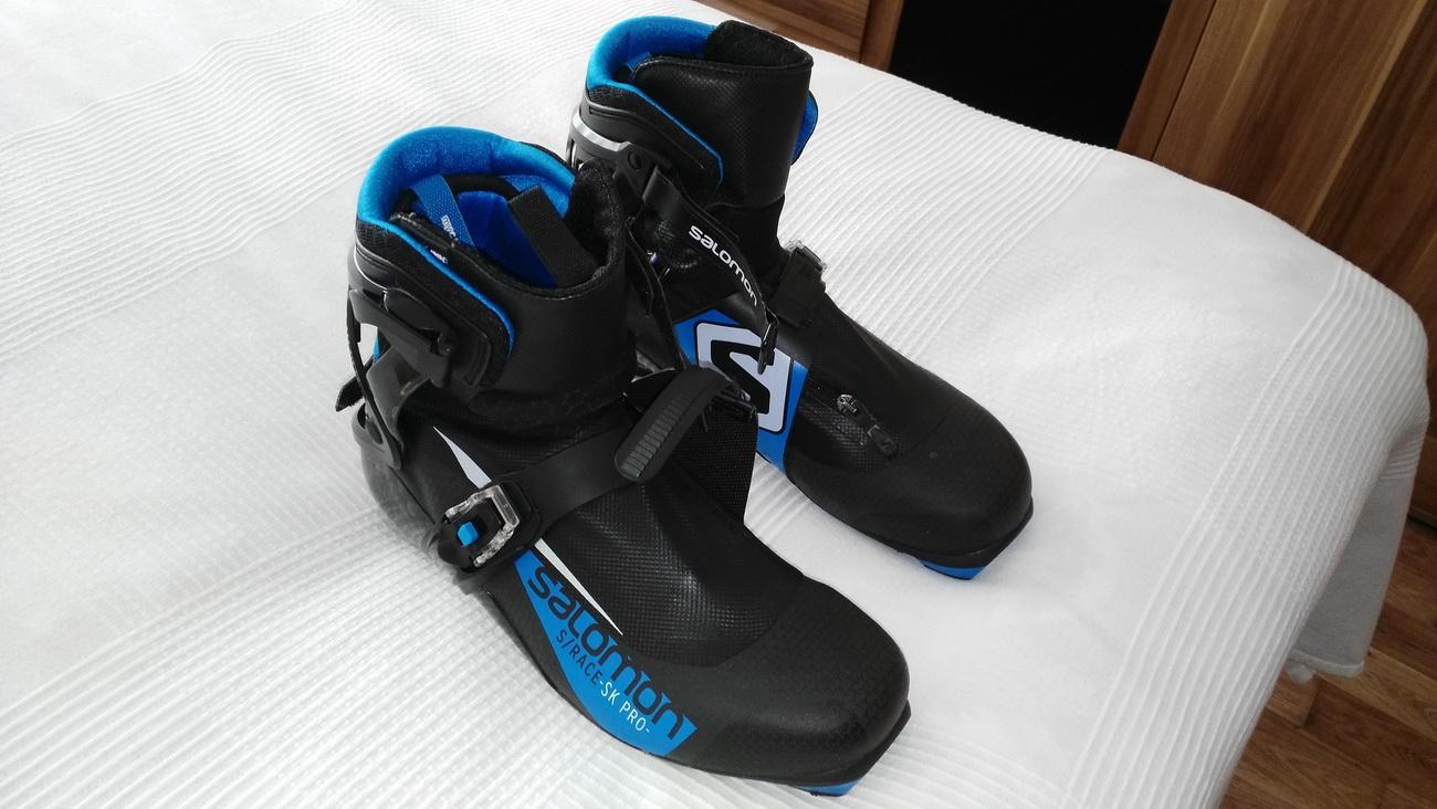 SALOMON S RACE SK PRO PROLINK 17 18 - Bazar - Běžky.net 479dbdc64f