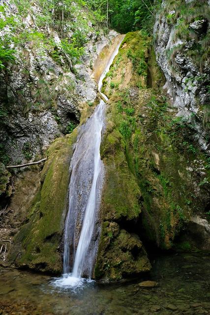 Şuşara Falls, Nera Gorge-Beușnița National Park, Romania
