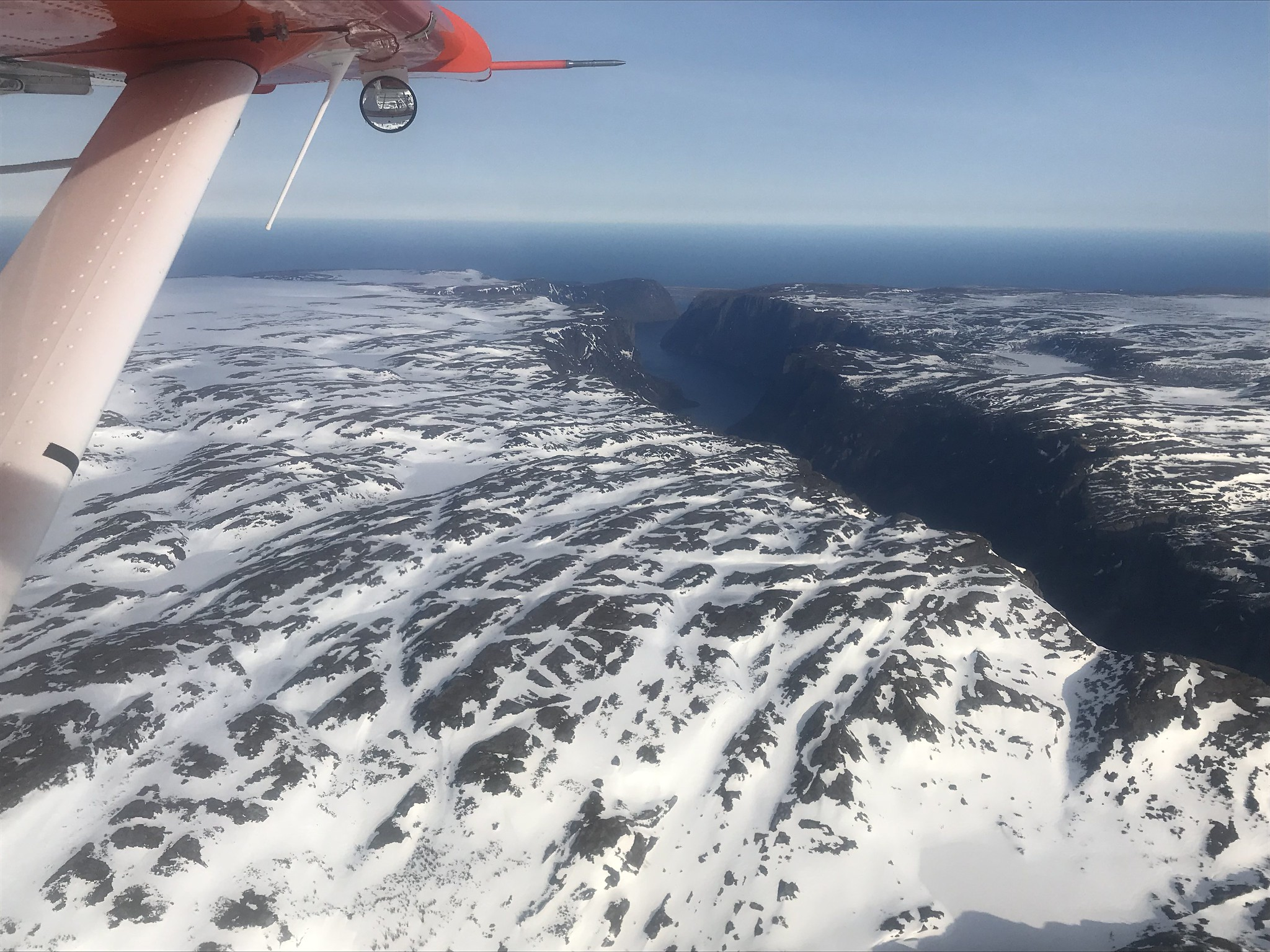 Western Brook Pond landlocked fjord, Newfoundland, May 2018 Photo Credit: USFWS