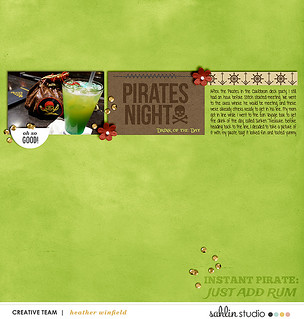 Pirate Night Drink of the Day during Disney Cruise Line Fantasy