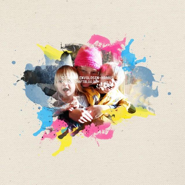 Watercolour effect