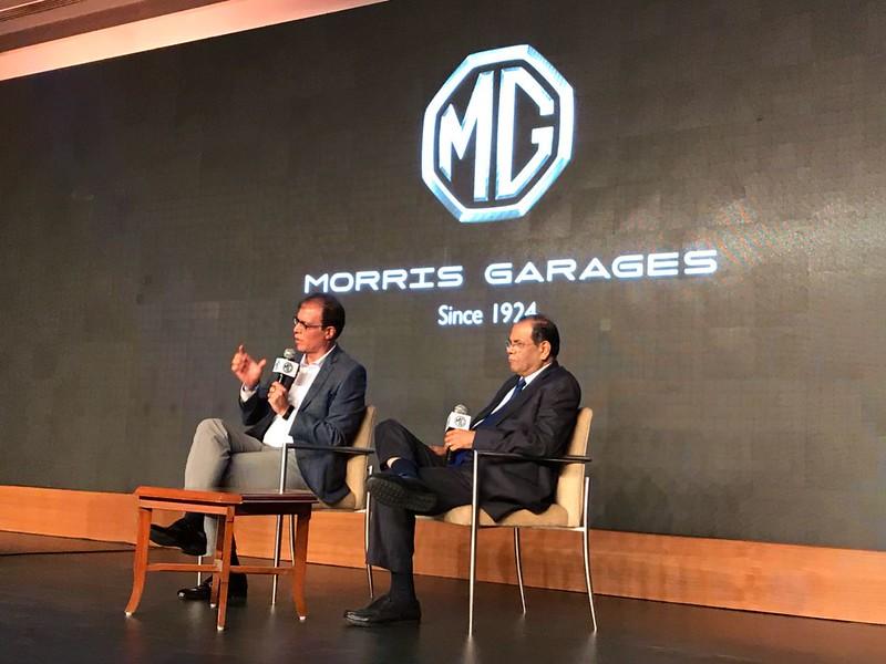 MG Motors India Confrence