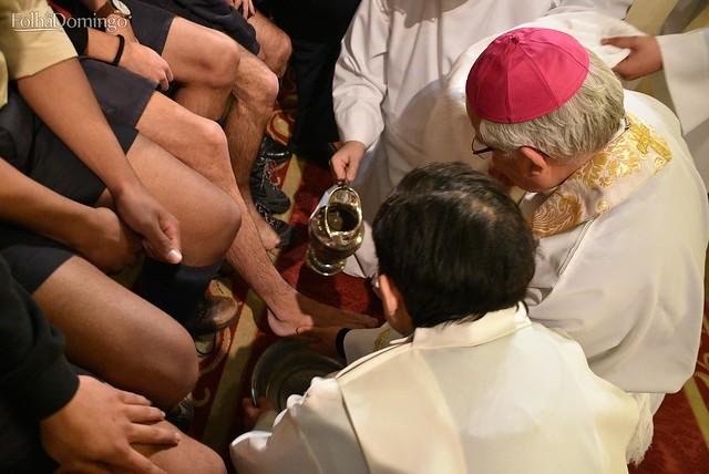 Quinta-feira-Santa 2018 - Missa da Ceia do Senhor