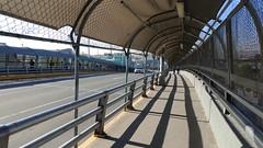 Pedestrian Walkway Paso Del Norte Bridge to Mexico