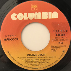 HERBIE HANCOCK:CHAMELEON(LABEL SIDE-A)