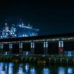 ro-ro ship at pier 35