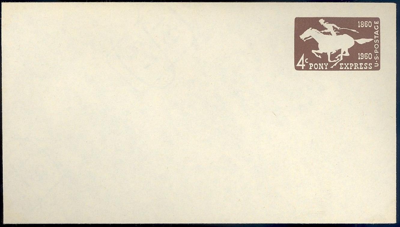 United States - Scott #U543 (1960)
