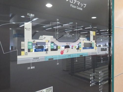 福島競馬場の5階フロアマップ