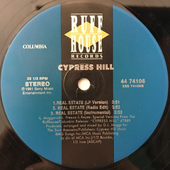CYPRESS HILL:HAND ON THE PUMP(LABEL SIDE-B)