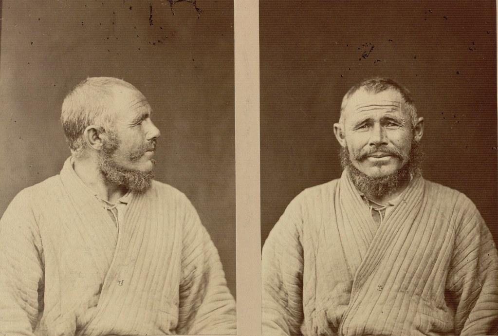 Антропологические портреты башкирских мужчин