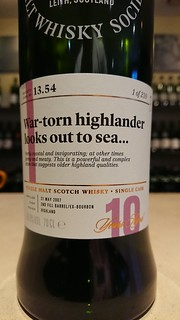 SMWS 13.54 - War-torn highlander looks out to sea...