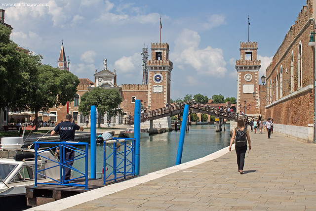 Porta di Terra dell'Arsenale