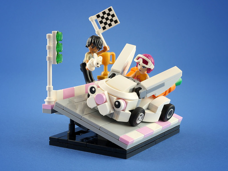[MOC分享]Friends系列小賽車
