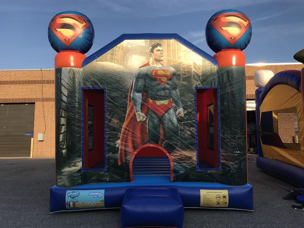 Superman Moonbounce