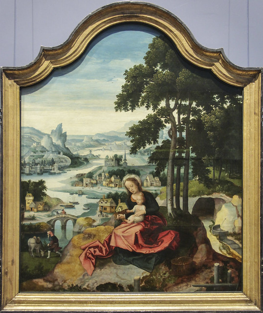 The Rest on the Flight into Egypt, Sudniederlandisch, 1520-30