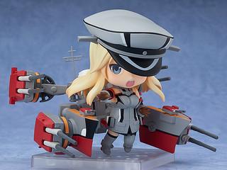 黏土人系列《艦隊Collection》超弩級戰艦的主導艦改造版「俾斯麥 改」 !ねんどろいど Bismarck(ビスマルク)改