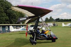 G-MZAX Solar Wings Pegasus (7152) Popham 080810