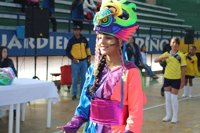 Inauguración Juegos Intercursos 2018
