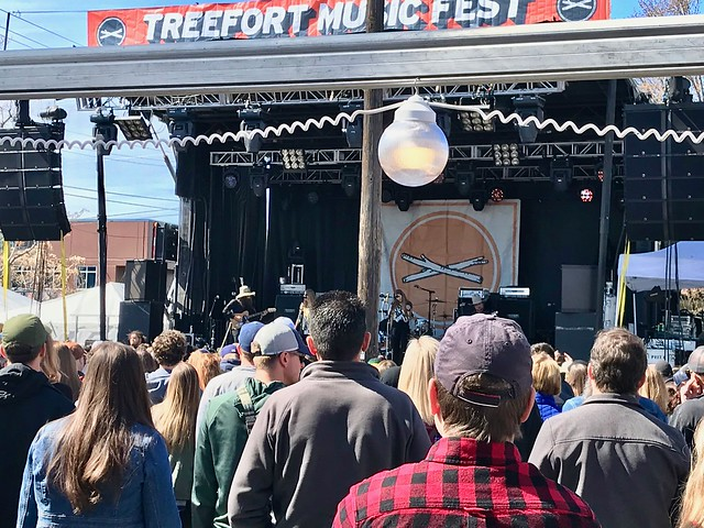 Shook Twins @ Treefort Music Fest 2018, Main Stage, Boise, ID, 24 March 2018