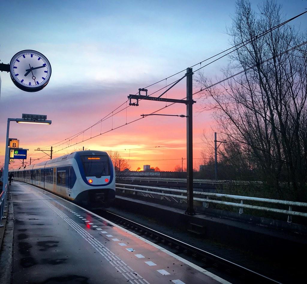 Station Duivendrecht.