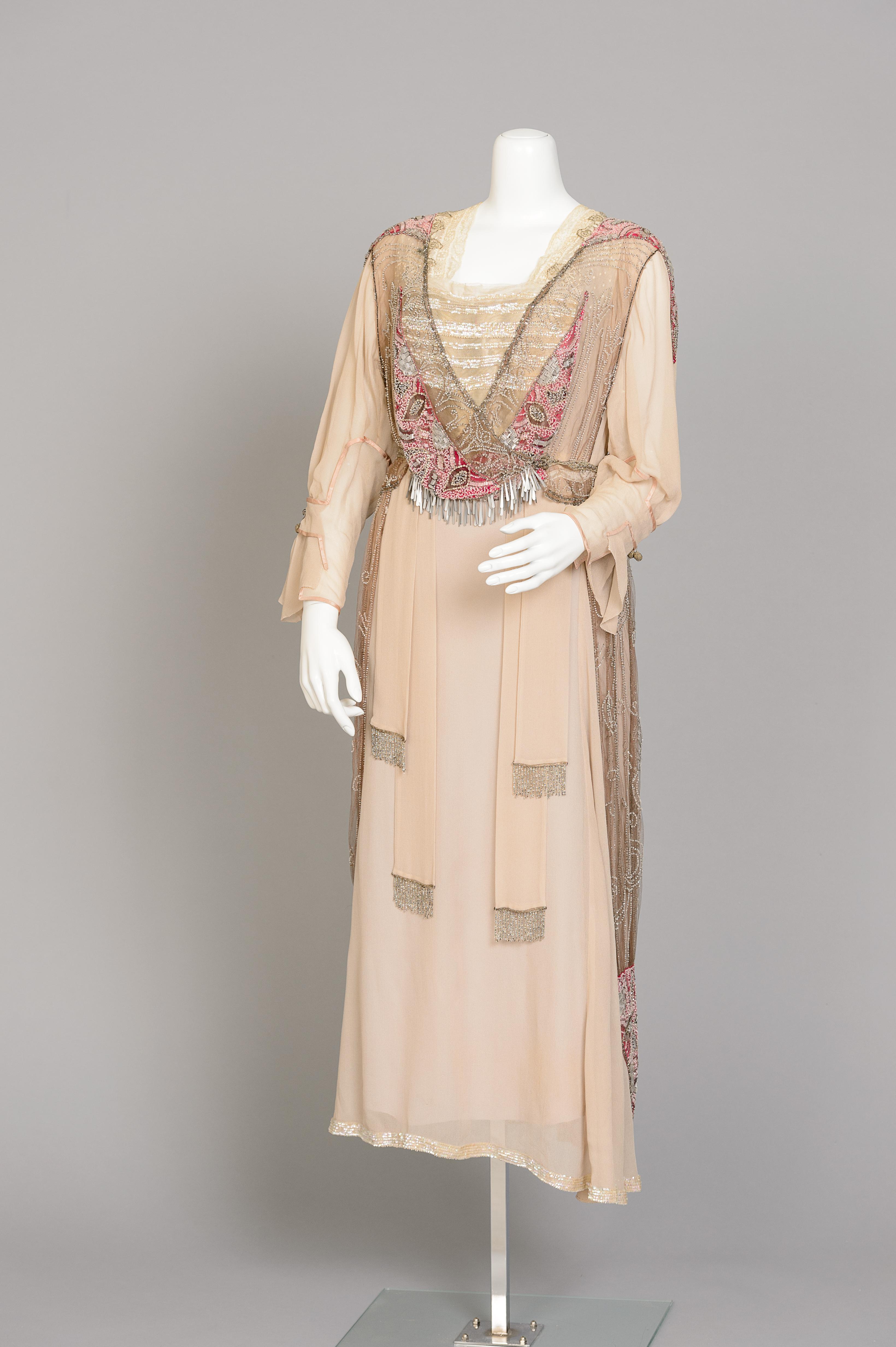 Fashion and Satire: Silk Georgette Dress