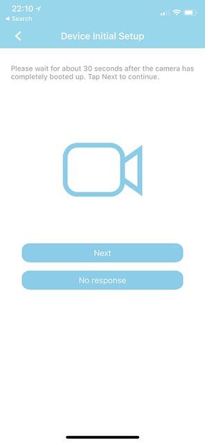 AzCam iOS App - Setup #5
