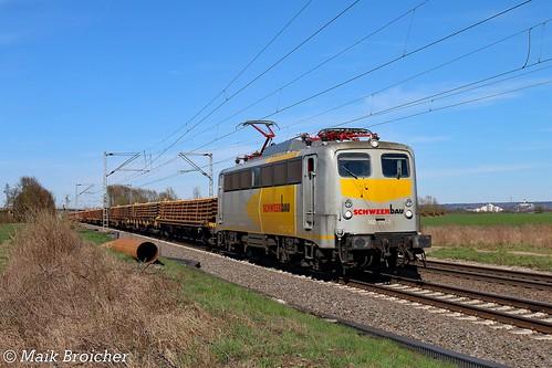 140 797 Schweerbau in Menden am 06.04.2018