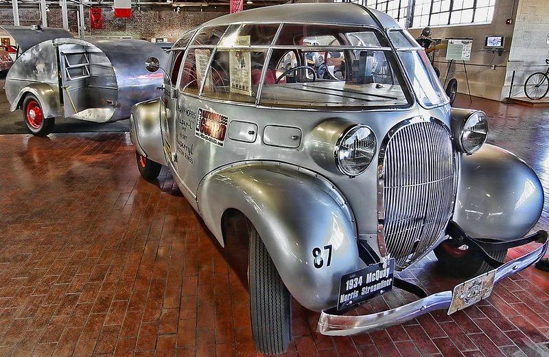 McQuay-Norris Teardrop Streamliner 1933-34