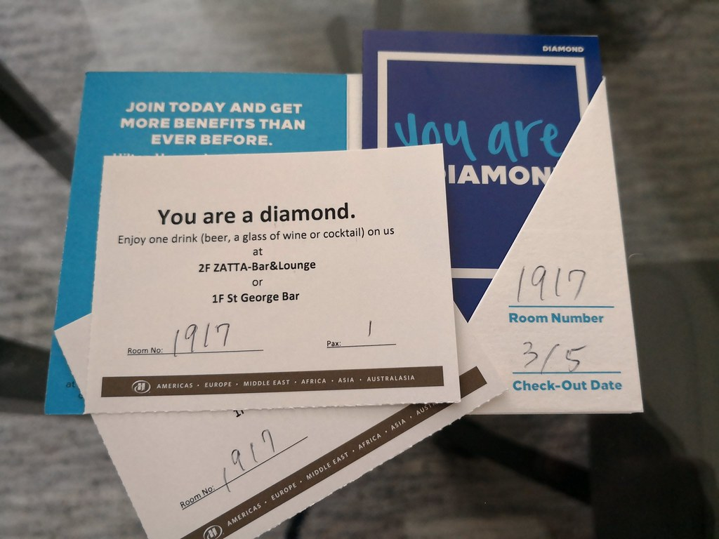 Diamond drinks voucher