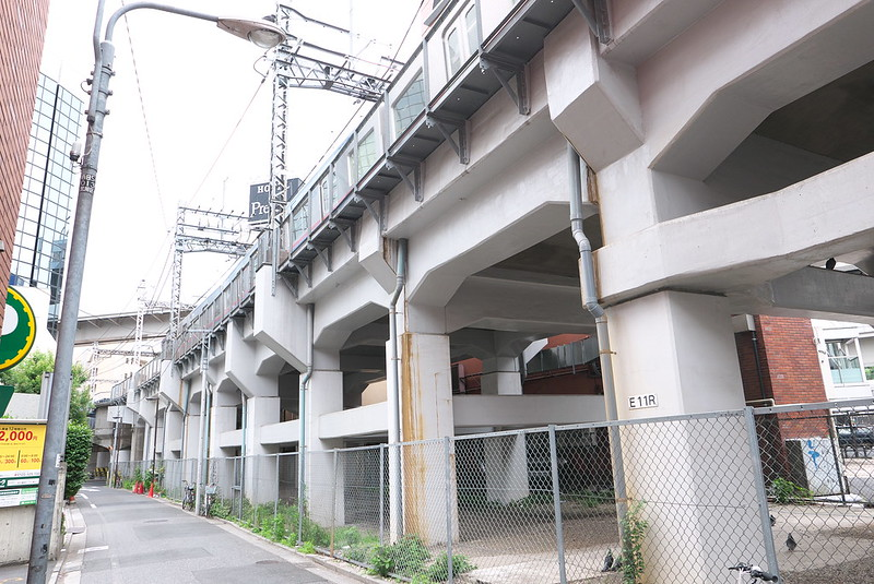 旧道灌山通駅