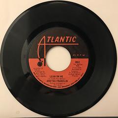 ARETHA FRANKLIN:SPANISH HARLEM(RECORD SIDE-B)
