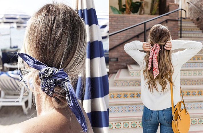 Cool Summer Hairstyles With Scarfs trend 2018 style fashion tendencias5