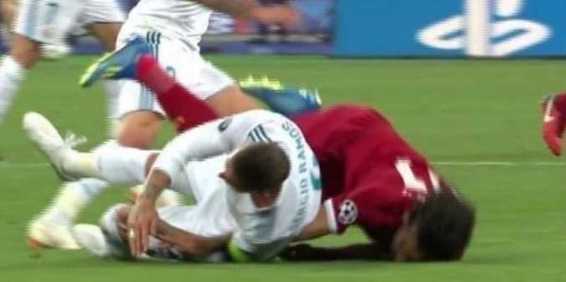 Sergio Ramos Dapat Ancaman Mati Setelah Cederai Mohamed Salah