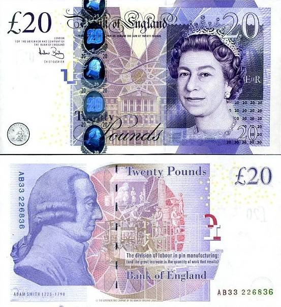 20 Libier Veľká Británia 2006-11, P392a