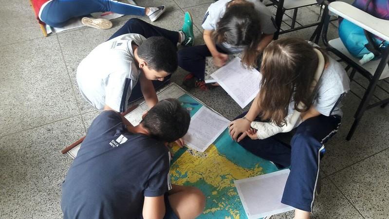 Atividade de Cartografia - Colégio Metodista Bertioga - 2018