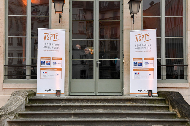 Inauguration de l'exposition 120 ans du mouvement ASPTT