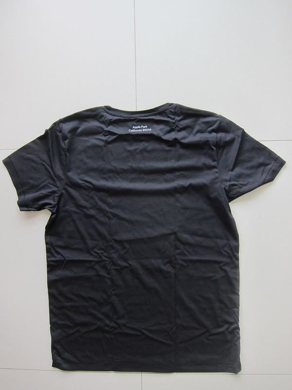 Apple Park T-Shirts - Black - Back