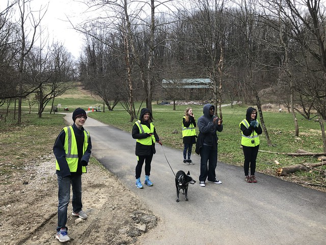 20180407-Leakin Park parkrun 41_course halfway point2