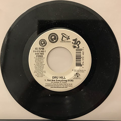 DRU HILL:THESE ARE THE TIMES(RECORD SIDE-B)