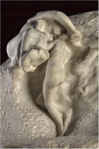 La Tierra y la Luna, 1901-1904. Mármol. (Fragmento)
