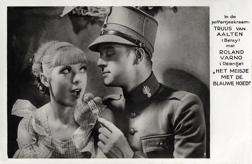 Truus van Aalten and Roland Varno in Het meisje met den blauwen hoed (1934)