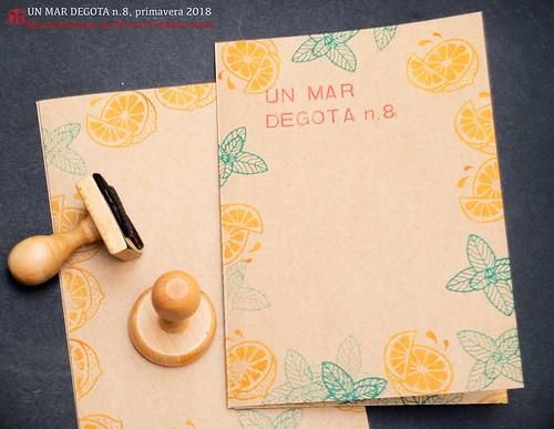Contingut del número 7 del Un mar degota, revista d'autor de Ferran Cerdans Serra